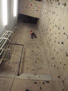 Rock Climbing Photo: Friend climbing in the Shaft.