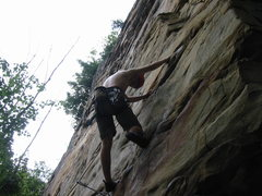 "Rock Climbing Photo: Me on ""She got the Bosch, I got Drilled""..."