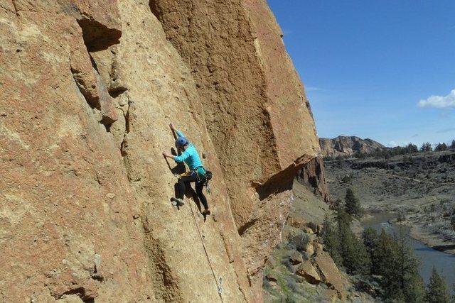 Rock Climbing Photo: Bunny Face