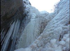 Rock Climbing Photo: The waterfall