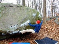 Rock Climbing Photo: Moby's