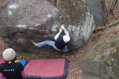 Rock Climbing Photo: Creekside Traverse