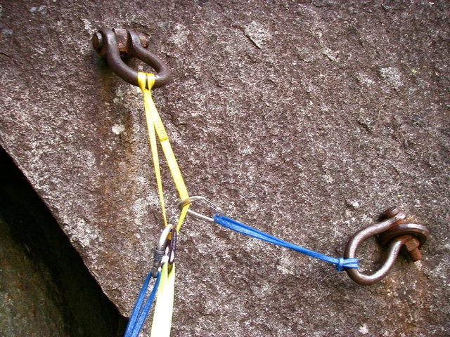 GNS belay bolts at Index<br>
