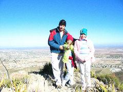 Rock Climbing Photo: Pop and the Kids