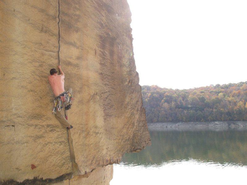 Rock Climbing Photo: where?