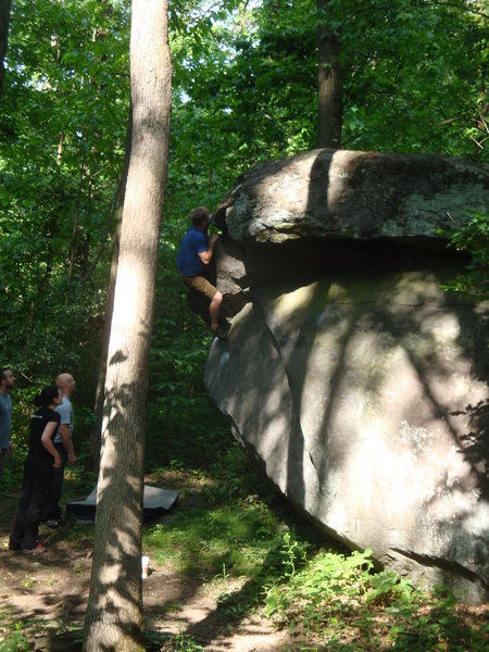 Rock Climbing Photo: El Presidente on Glass Menagerie
