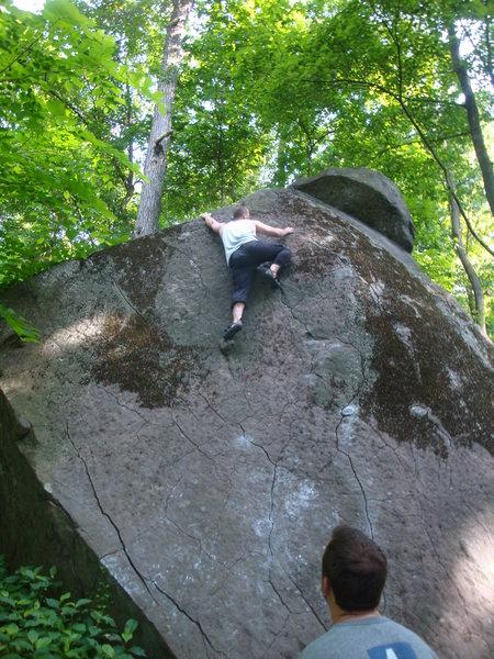climbing the Pyramid