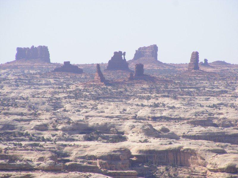 Rock Climbing Photo: Land of standing rocks