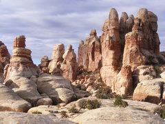 Rock Climbing Photo: The Doll House