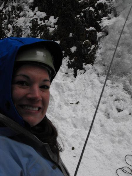 Rock Climbing Photo: Ice climbing in Hyalite.