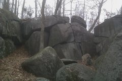 Rock Climbing Photo: Took this with my cell phone.  Hope to get better ...