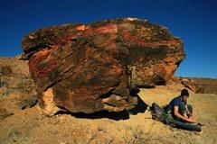 Rock Climbing Photo: Start of the traverse.