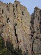 Rock Climbing Photo: The Great Zot (first pitch) into Rewritten.  It wa...