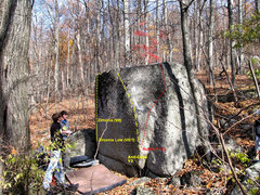 Rock Climbing Photo: Establishing the Cube