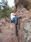 Rock Climbing Photo: Loads of easy traversing....