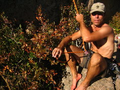 Rock Climbing Photo: Belay slave.