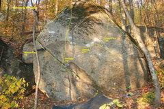 Rock Climbing Photo: Middle is geriasstrick