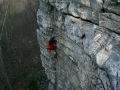 Rock Climbing Photo: Black Crack - Annapolis Rocks