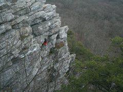Rock Climbing Photo: The Dragon - Annapolis Rocks