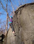 Rock Climbing Photo: The Scoop, V0, Governor Stable