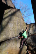 Rock Climbing Photo: Herr Right, V7/8, Governor Stable