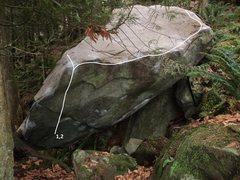 Rock Climbing Photo: 1. Levitation 2. Levitation Extension