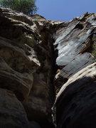 Rock Climbing Photo: P2 Hearing Voices 5.7+