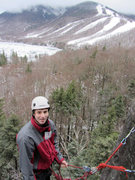 Rock Climbing Photo: cold weather kevin...