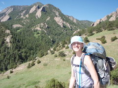 Rock Climbing Photo: Heading down to climb Seal Rock