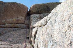 Rock Climbing Photo: Edwards Crack