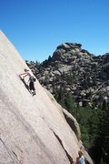 Rock Climbing Photo: Cold Fingers, Vedauwoo