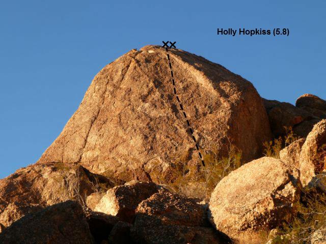 Holly Hopkiss (5.8), Joshua Tree NP