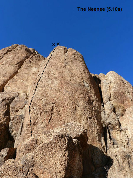 The Neenee (5.10a), Joshua Tree NP