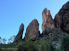 Rock Climbing Photo: Superstition Spires