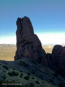 Rock Climbing Photo: The hand landscape
