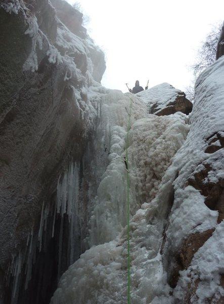 First Ice climb