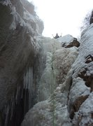 Rock Climbing Photo: First Ice climb