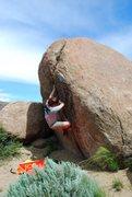 Rock Climbing Photo: Bouldering at Reynold's Creek, Idaho