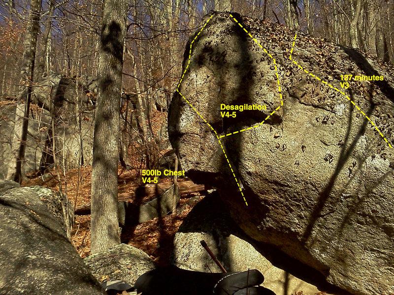 Rock Climbing Photo: desagilation