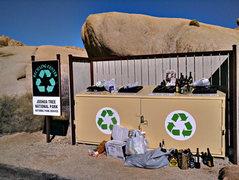 Rock Climbing Photo: Recycle