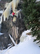 Rock Climbing Photo: Worked this route recently, calling it M6 WI5+(AKA...