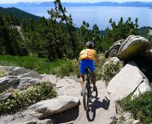 Rock Climbing Photo: Tahoe Rim Trail