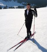 Cross-country skiing in Italy is DA best