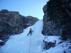 Rock Climbing Photo: Jordon Griffler on Three Tiers.  Ten Mile Canyon. ...