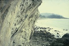Rock Climbing Photo: Upper part of the route from Blackbeard's Tears.
