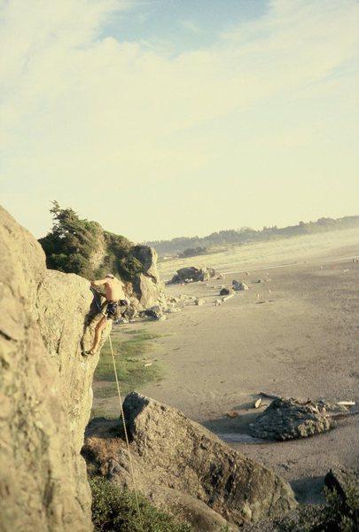 Rock Climbing Photo: Tim Wilhelmi gets it!