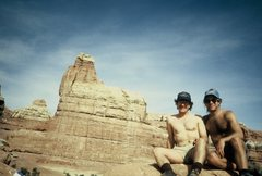 Rock Climbing Photo: My brother showed me around Canyonlands.