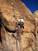 Rock Climbing Photo: Monkey o' Steel gettin' some High Plains Drifter o...
