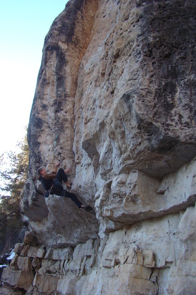 Rock Climbing Photo: Can this thing get any harder?