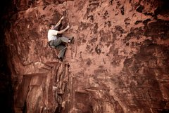 Rock Climbing Photo: Above the roof and into the engaging face climbing...